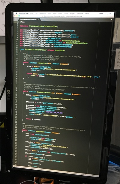 What my vertical monitor looks like