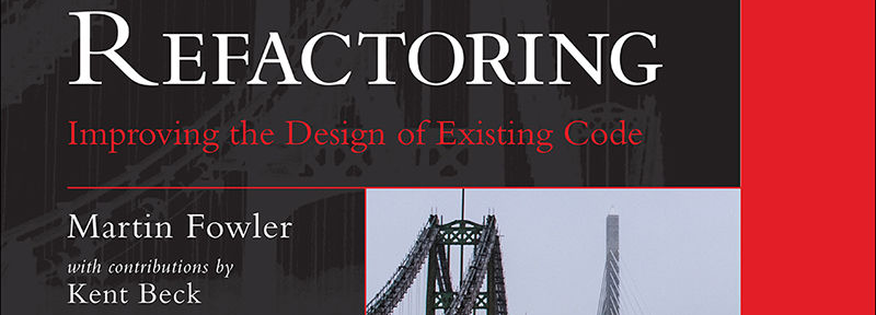 Refactoring: Improving the Design of Existing Code (2nd Edition) Cover
