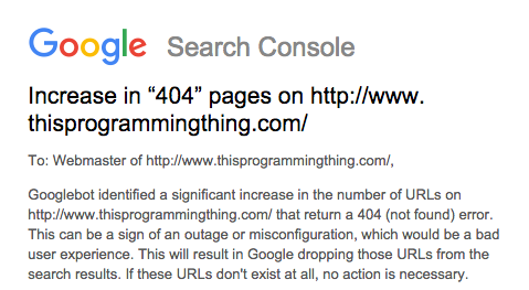 Googlebot identified a significant increase in the number of URLs on...